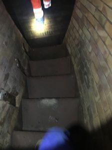 Erste Schritte im Untergrund